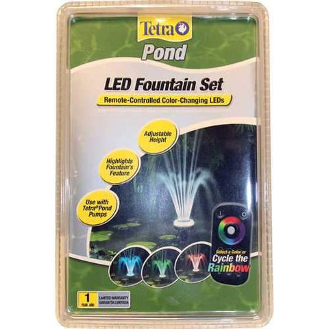 Led Fountain Set With Remote