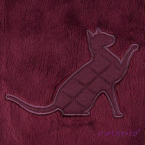Castor Cat Sweater by Catspia - Wine