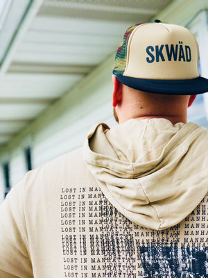 Skwad - Flat Bill Trucker Hat