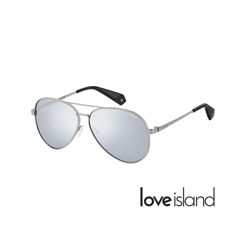 sunglasses right-side view silver