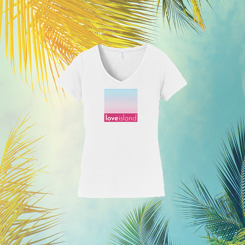 Official Gradient Love Island V-Neck