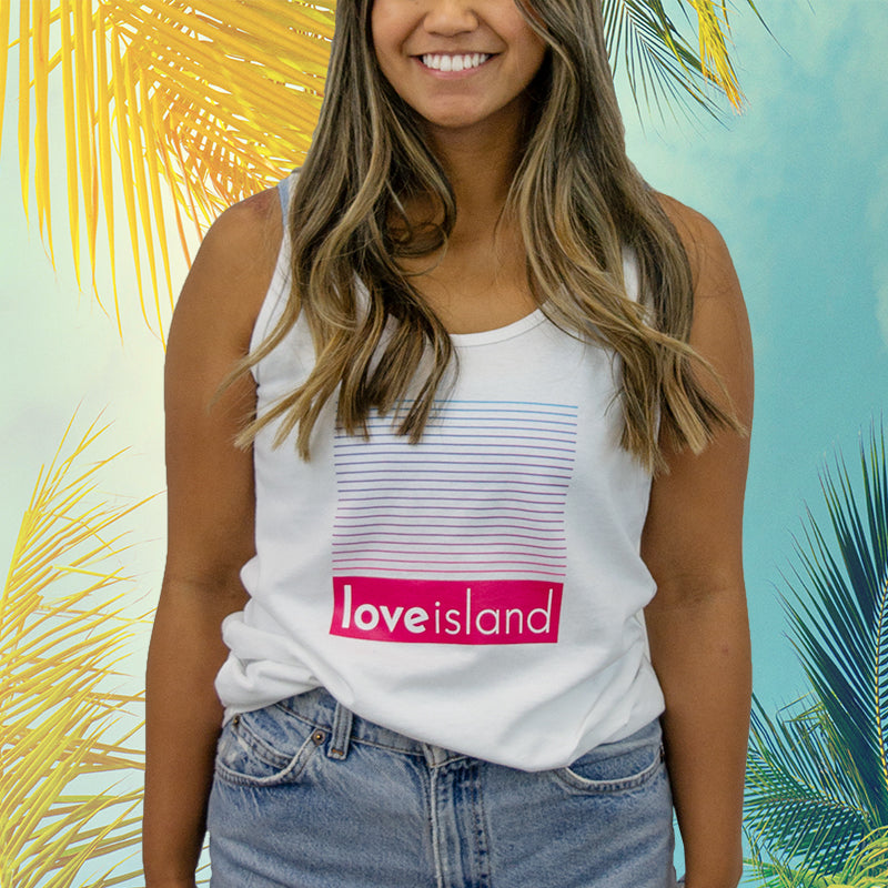 Official Gradient Love Island Tank Top