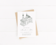 Load image into Gallery viewer, Baltimore Basilica Stationery - Digital or Print