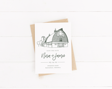 Load image into Gallery viewer, Sweeney Barn Stationery - Digital or Print