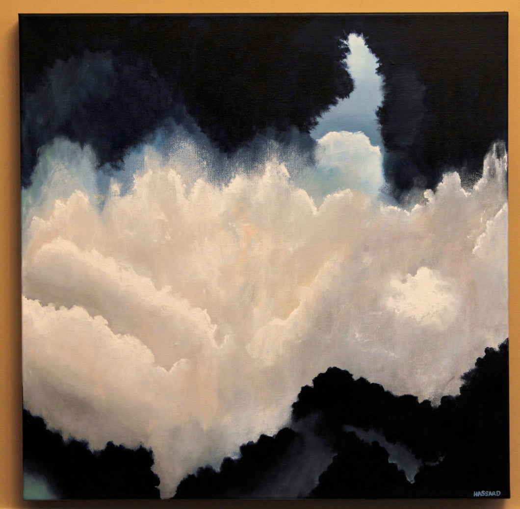 In the Clouds, 20x20