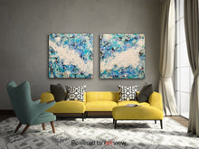 "Load image into Gallery viewer, Movement, 36x48"" (72x96"" total) diptych abstract"