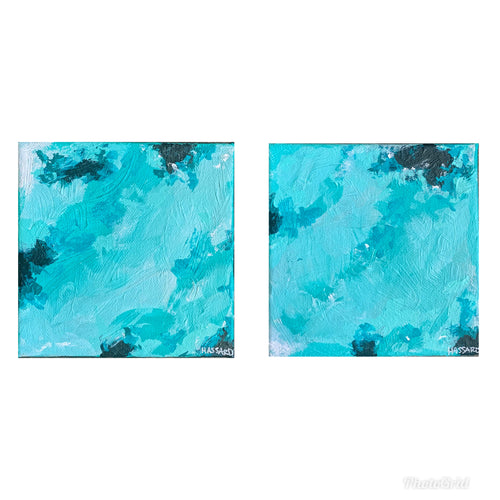 Aqua Movement, 5x5