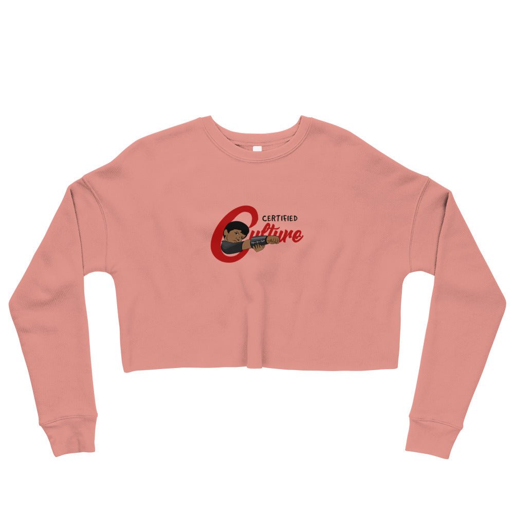 Johnny Culture Quest Crop Sweatshirt