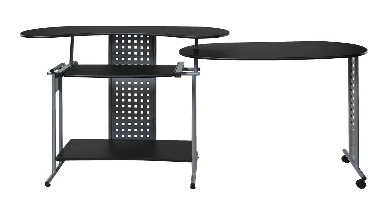 Regallo Expandable L Computer Desk