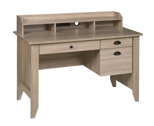 Eleanor Executive Desk, Light Oak (50-1617LO)