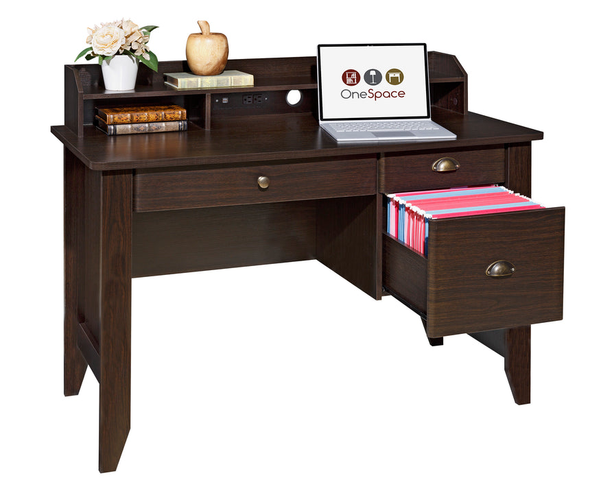 Eleanor Executive Desk, Espresso (50-1617)