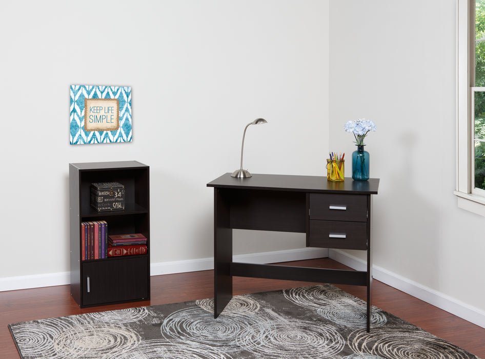 Adina 2 Drawers Writing Desk (Multiple Colors)