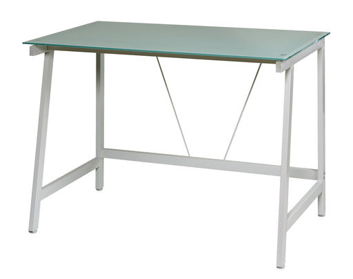 Elaina Glass Writing Desk
