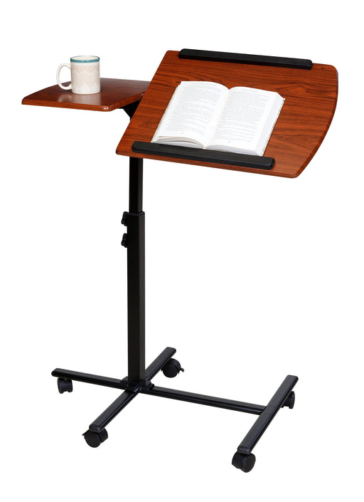 Mobile Laptop Computer Stand, Dual Surface