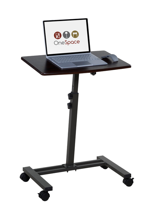 Mobile Laptop Computer Stand, Single Surface