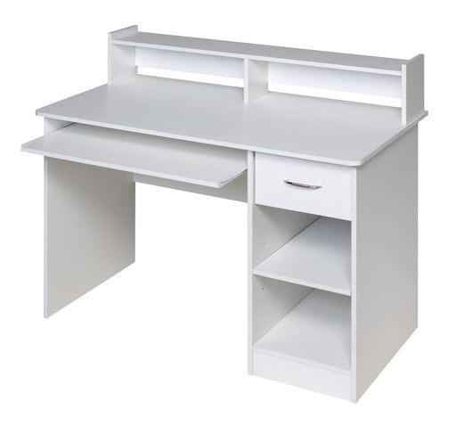 Essential Computer Desk (White or Black)