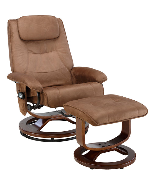 Deluxe Padded Microsuede Massage Recliner (60-078011)