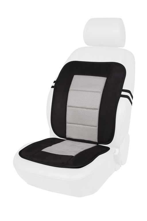 Microsuede Full Seat Cushion (Black or Beige)