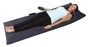 10 Motor Massage Mat with Pillow, Removable Cover, Grey (60-290804)