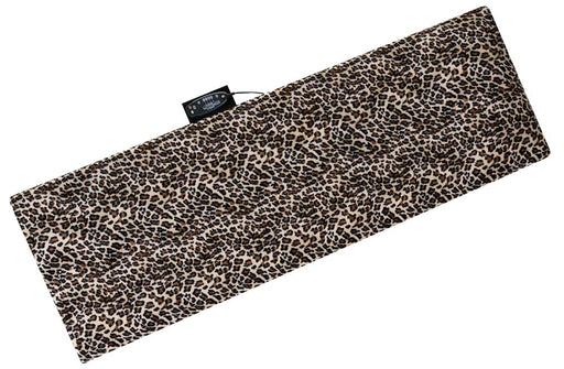 10 Motor Massage Mat with Pillow, Removable Cover, Leopard (60-2908LP)