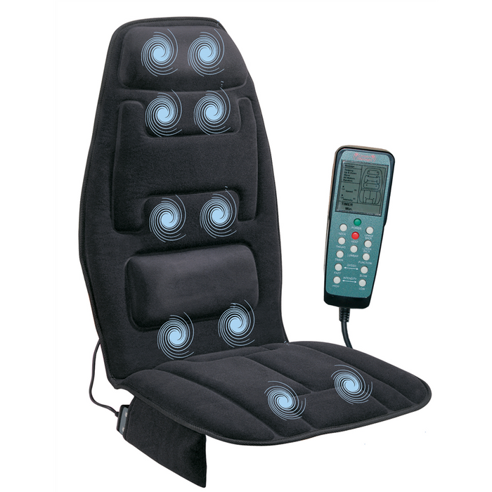 10 Motor Massage Cushion With Heat and Extra Foam (60-2910P)