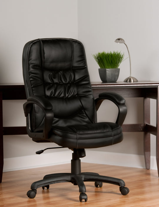Soft Touch Bonded Leather Executive Chair