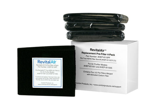 RevitalAir Prefilter with Activated Carbon, 4-Pack