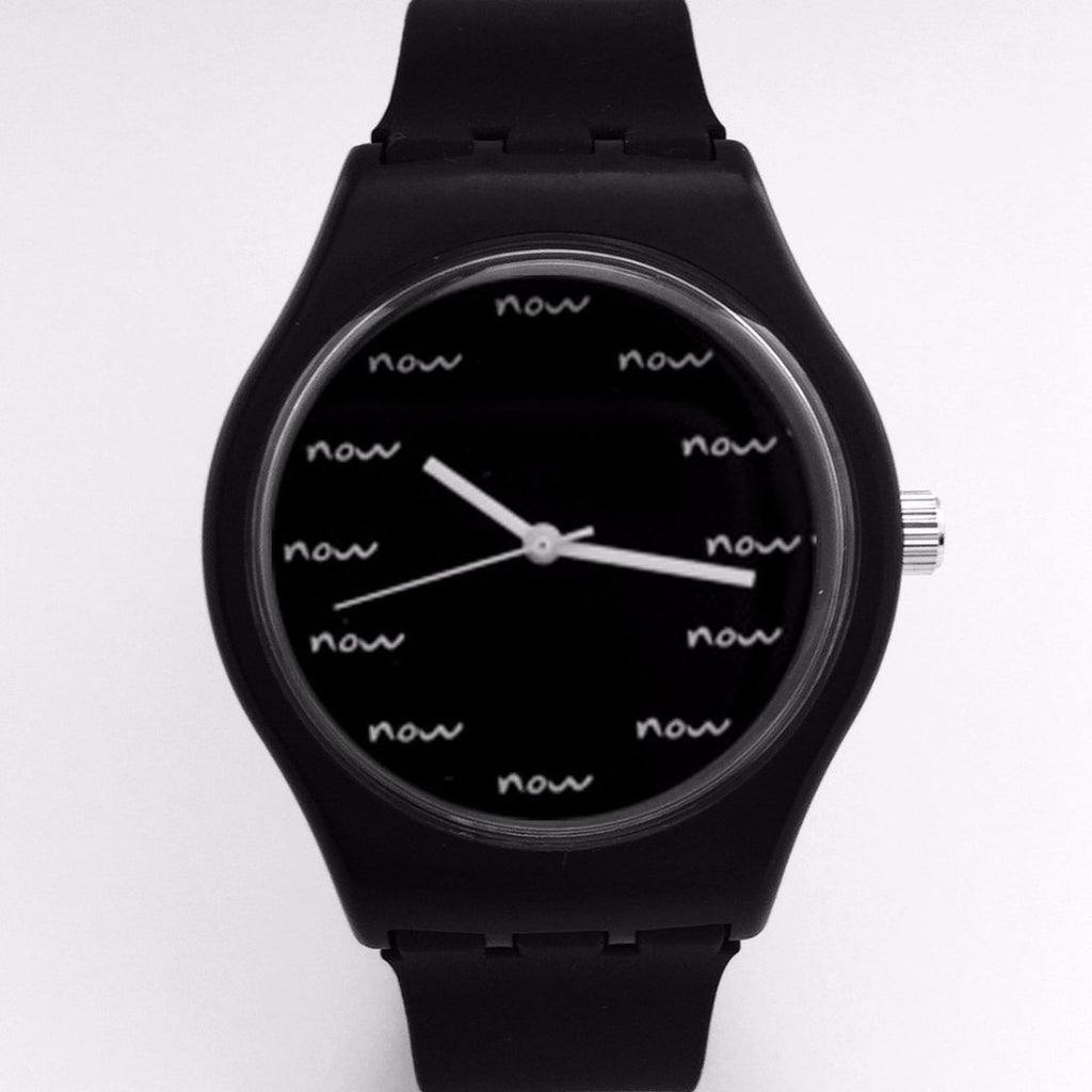 Real Now Watch Black