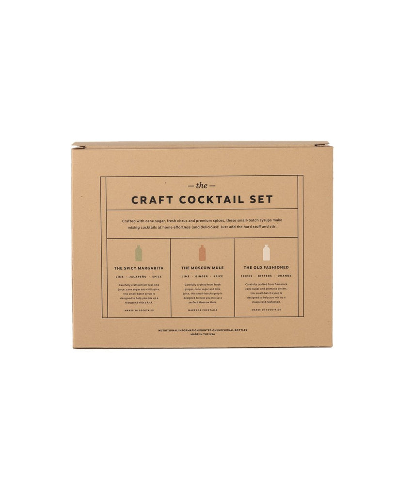 Cocktail Syrup 3-Pack Set (8 oz)