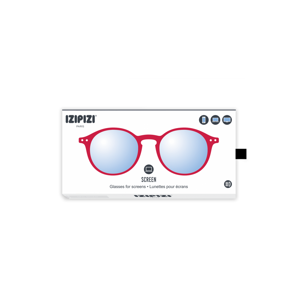 IZIPIZI Screen Readers -  Red Crystal (D)