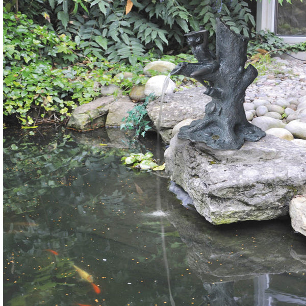 Completing your Pond with a Water Feature