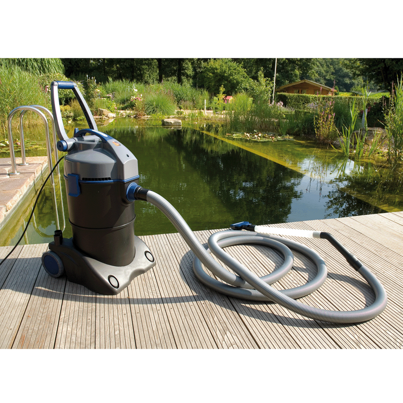 How Does a Pond Vacuum Work