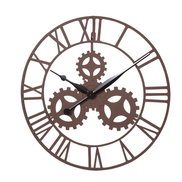 KCT Vintage Gear Design Wall Mounted Clock