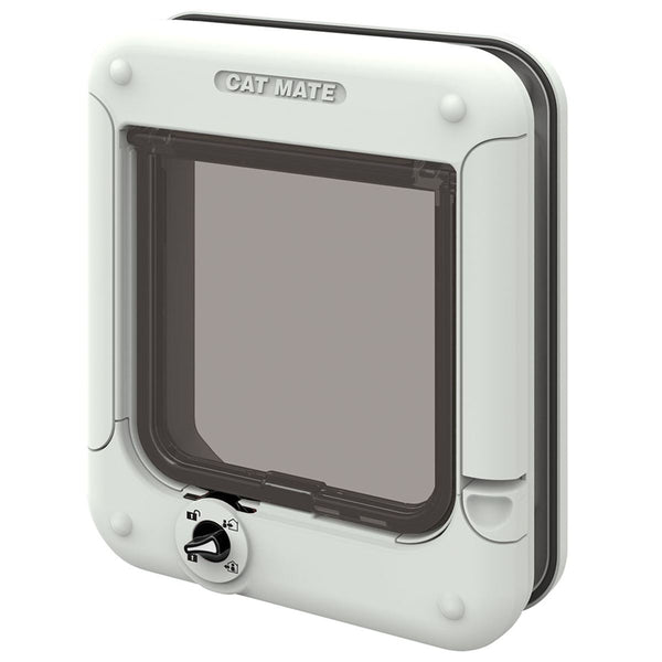 Cat Mate Rotary 4 Way Locking Cat Flap (358W)