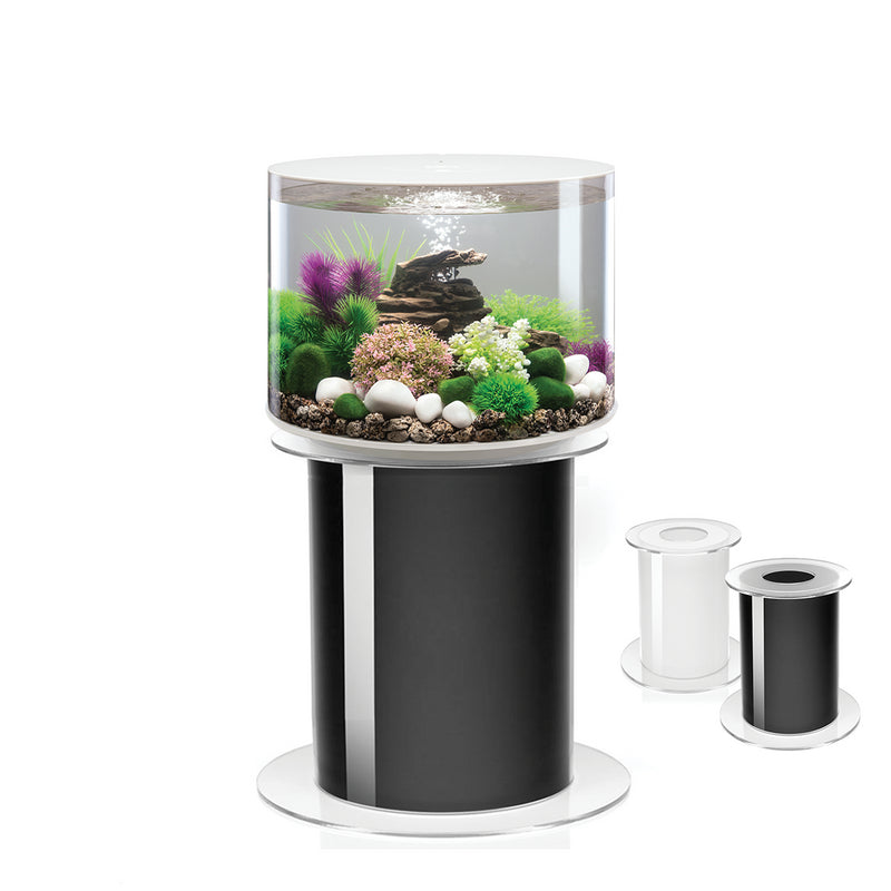 biOrb Tube 35L Black Aquarium with MCR LED Lighting