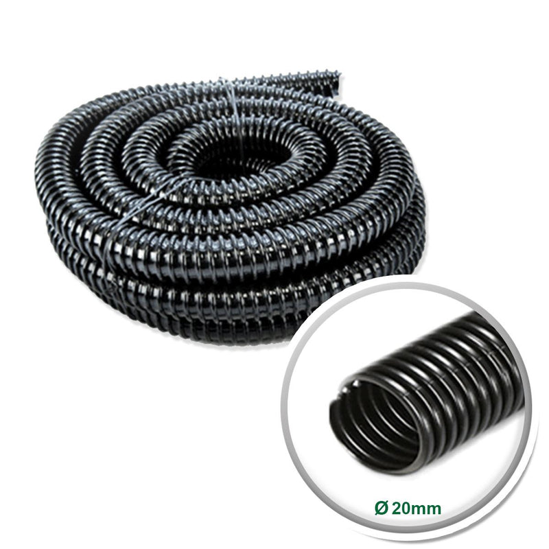 Black Corrugated Pond Hose