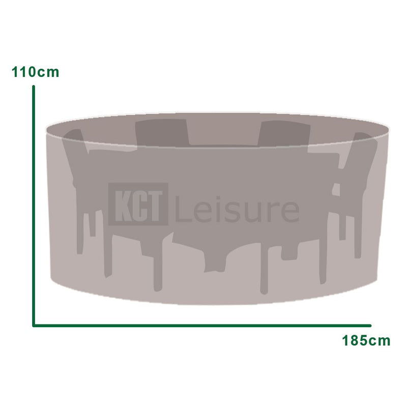 KCT Round Outdoor Protective Garden Furniture Covers
