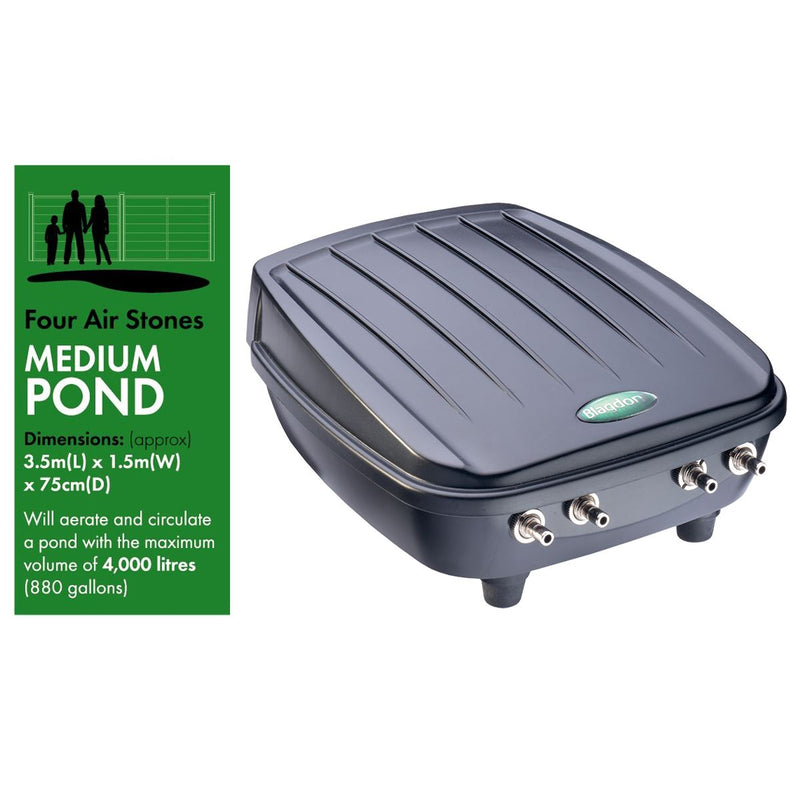 Blagdon Pond Oxygenator Air Pumps
