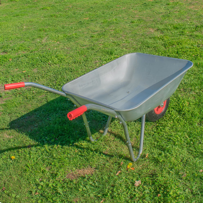 KCT 65 Litre Garden Steel Wheelbarrow