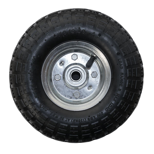 "KCT 10"" 4.10 /3.50 - 4 - Replacement Garden Trailer Wheel"