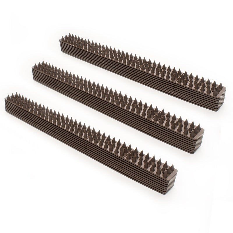 KCT Fence and Wall Anti Crime & Pests Spike Set - 30 Pack