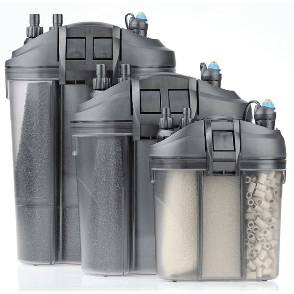 Eden External Aquarium Filters with Eden Water Heater