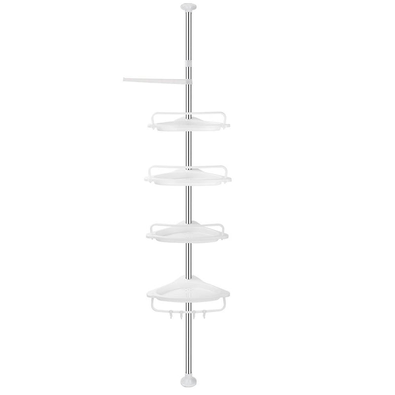 4 Tier Bathroom Caddy Corner Shelf