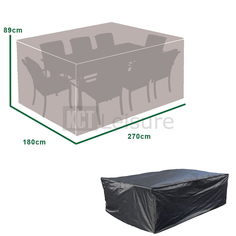 KCT Rectangle Outdoor Protective Garden Furniture Covers