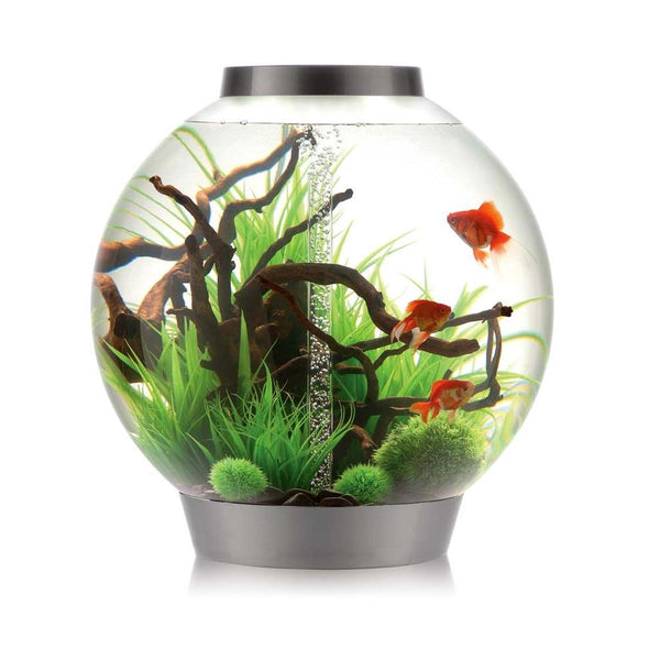 biOrb Classic 105L Silver Aquarium with MCR LED Lighting