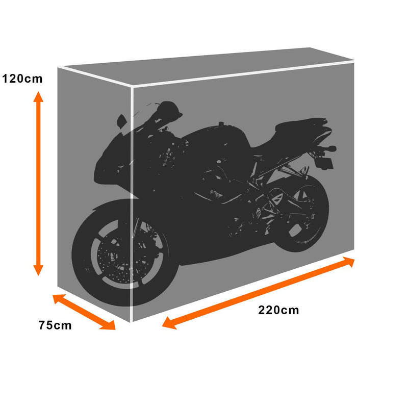 KCT Outdoor Weatherproof Motorbike Cover
