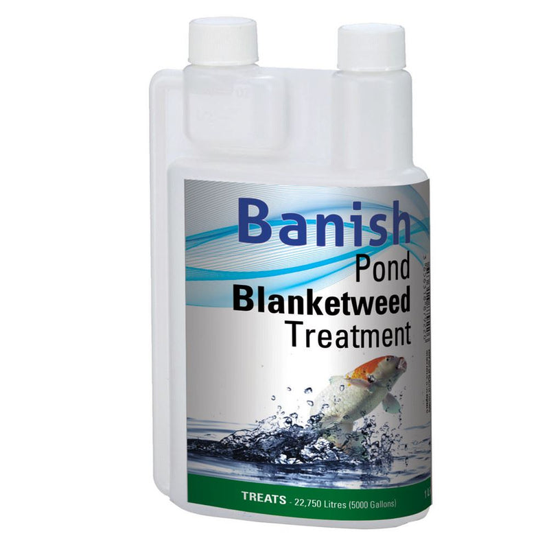 Banish Pond Blanketweed Treatment - Industrial Leisure