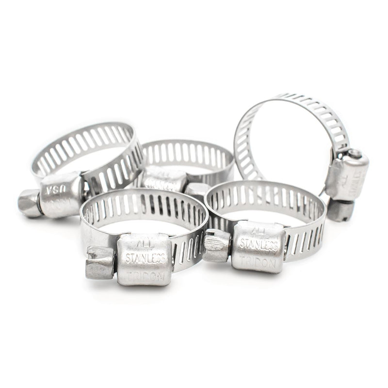 Stainless Steel Jubilee Style Pond Hose Clips