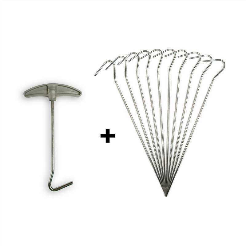 Standard Tent Pegs With Peg Puller