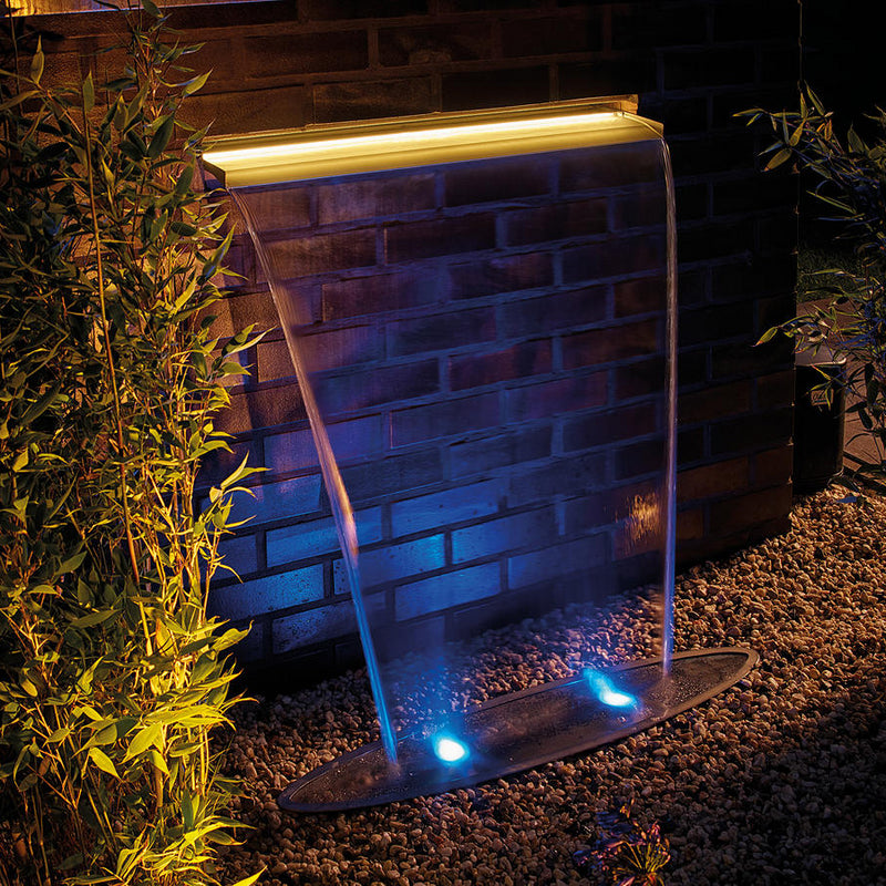 Oase Garden Waterfall Blade 60 & Illumination 60